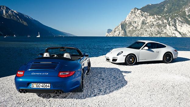 Porsche Carrera GTS Cabrio Coupé Exterieur Statisch