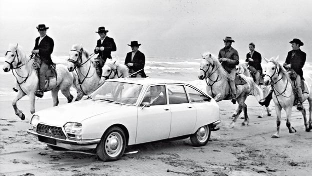 1970 Zeitgenossen Citroen GS