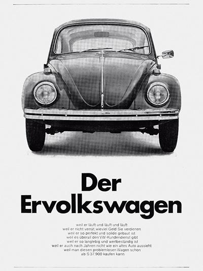 1970 Zeitmaschine Was noch geschah Volkswagen