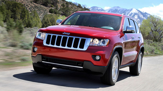 Jeep GRand Cherokee Exterieur Front Dynamisch