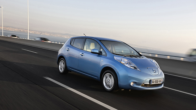 Nissan Leaf Exterieur Dynamisch Front