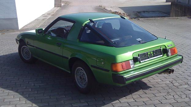 Sebastian Trummer Mazda RX7 Russland