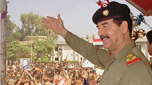 Saddam Hussein Rolls Royce