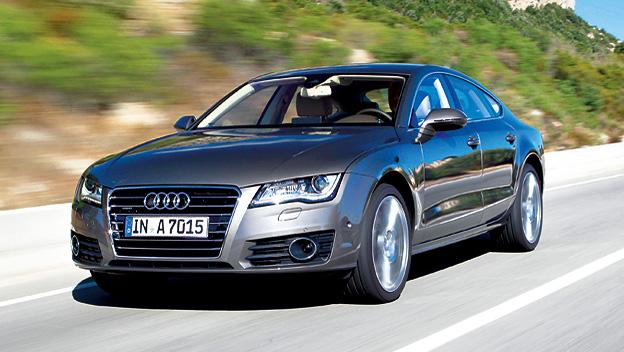 Audi A7 dyn VoLi
