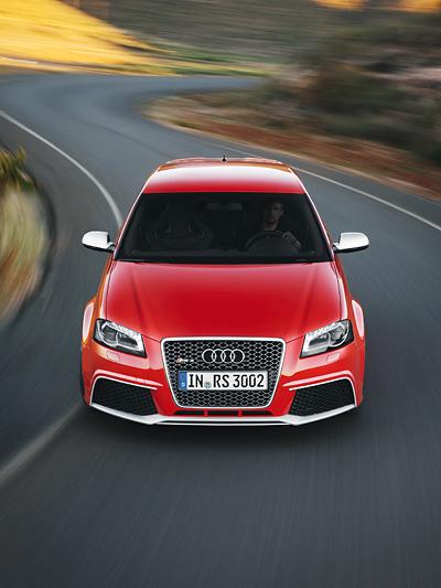Audi RS3 Sportback Exterieur Dynamisch Front