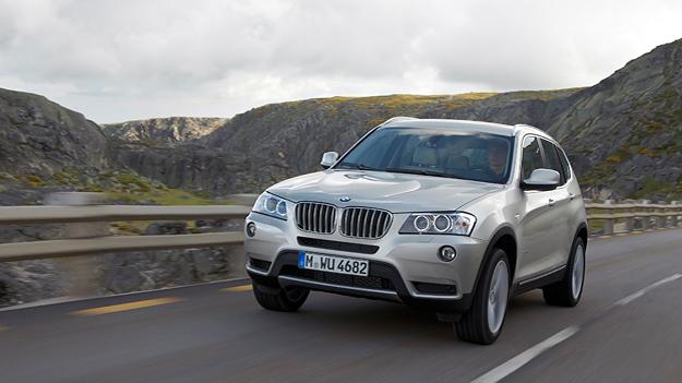 BMW X3 Exterieur Dynamisch Front