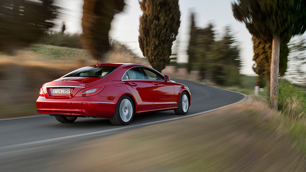 Mercedes CLS Exterieur Dynamisch Heck Seite