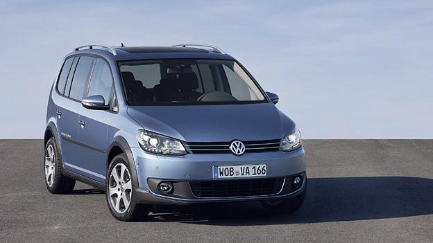 VW Cross Touran Exterieur Statisch Front