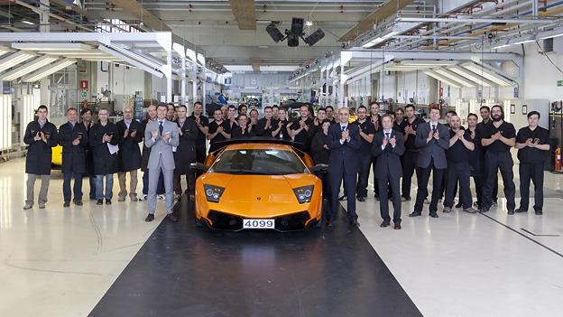 Der letzte Lamborghini Murciélago