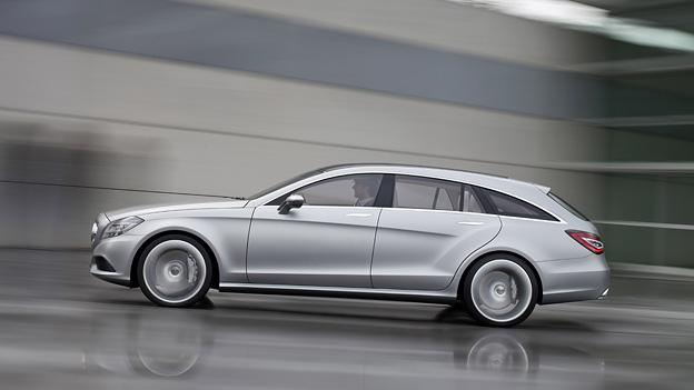 Mercedes Benz CLS Chooting Brake Exterieur Dynamisch Seite
