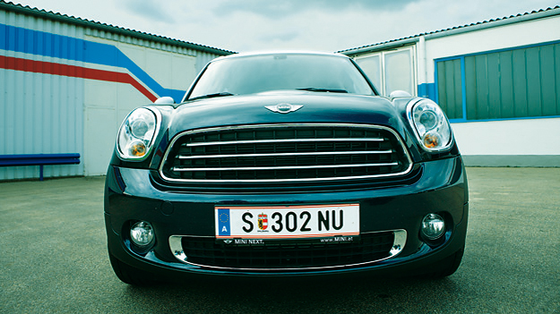 Mini Countryman stat vorne