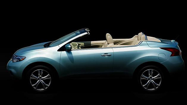 Nissan Murano Cabrio Exterieur Statisch