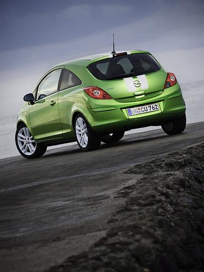 Opel Corsa Exterieur Statisch Heck