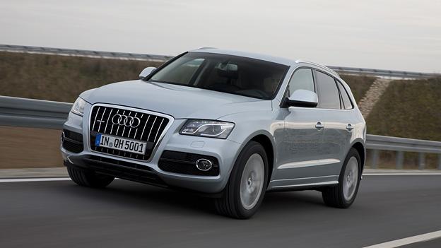 Audi Q5 Hybrid Exterieur Dynamisch Front