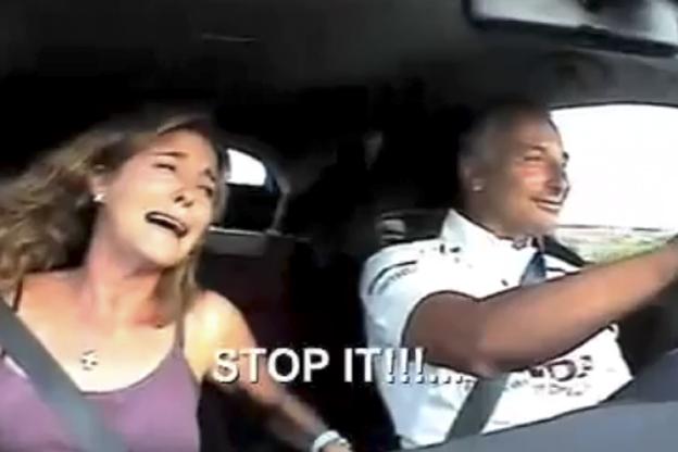 Die Fee am Beifahrersitz