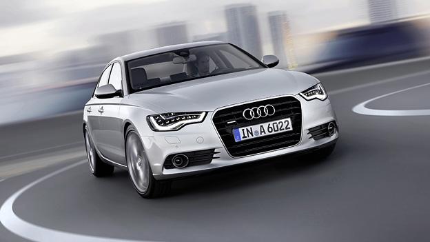 Audi A6 Limousine Exterieur Dynamisch Front