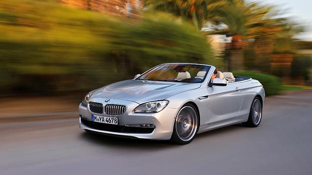 BMW 6er Cabrio Exterieur Dynamisch Front