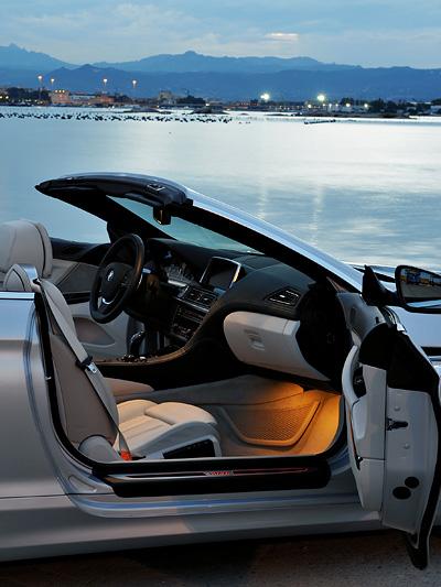 BMW 6er Cabrio Exterieur Seite Statisch