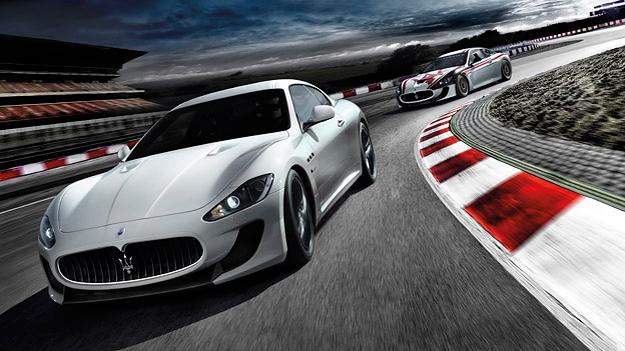 Maserati Gran Turismo dyn vorne