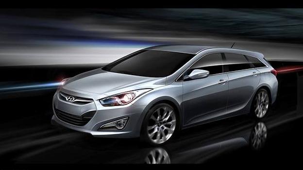 Hyundai i40 Kombi Skizze Exterieur