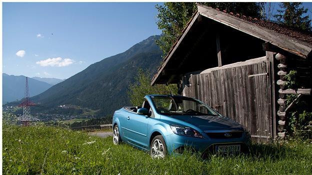 Ford Focus CC stat VoRe