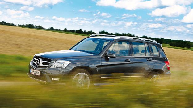 Mercedes-Benz GLK dyn VoLi