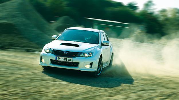 Subaru WRX STi dyn vorne