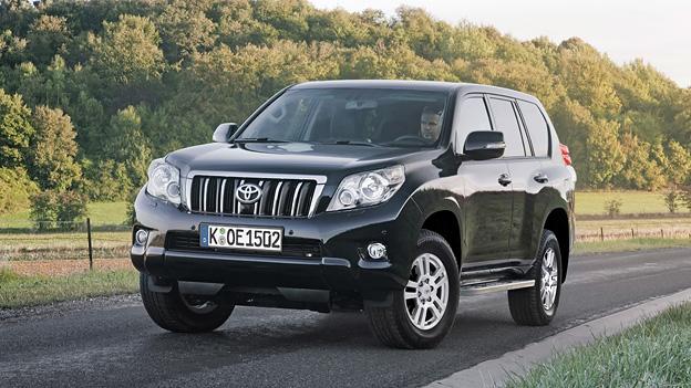 Toyota Land Cruiser Exterieur Statisch Front