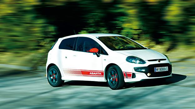 Abarth Fiat Punto Evo Exterieur Dynamisch Front Seite