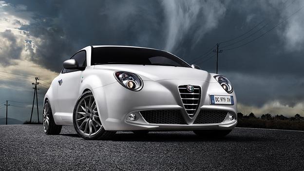 Alfa Romeo Mito statisch front