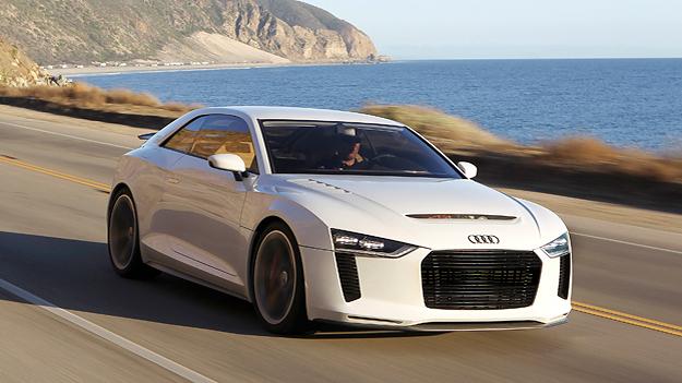 Audi Quattro Concept Dynamisch Exterieur Front