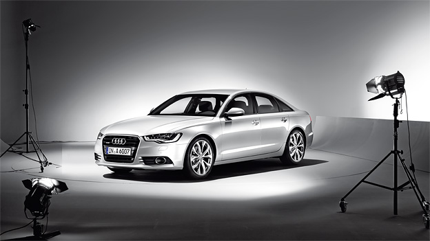 Audi A6 Statisch Exterieur Front Seite