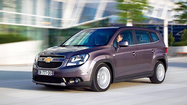 Chevrolet Orlando Dynamisch Exterieur Front Seite
