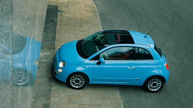 Fiat 500 Exterieur Statisch Seite