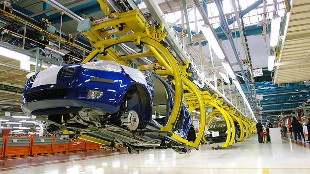 Fiat Turin Werk Produktion