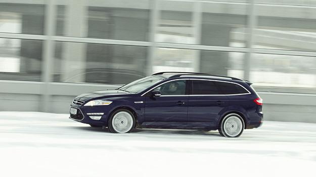 Ford Mondeo Traveller Exterieur Dynamisch Seite