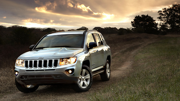 Jeep Compass Statisch Front