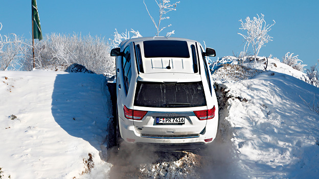Jeep Grand Cherokee Dynamisch Exterieur Heck Offroad