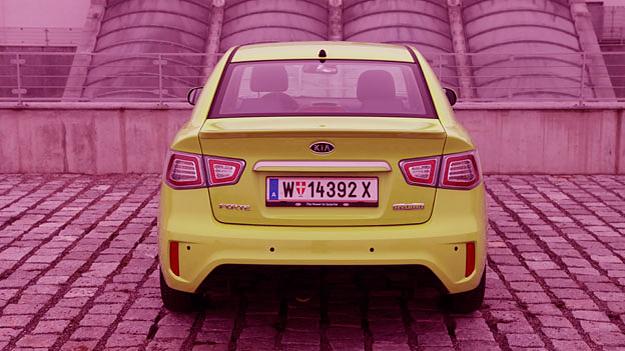 Kia Forte Hybrid Exterieur Statisch Heck