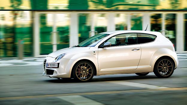 Alfa Romeo Mito Exterieur Dynamisch Seite