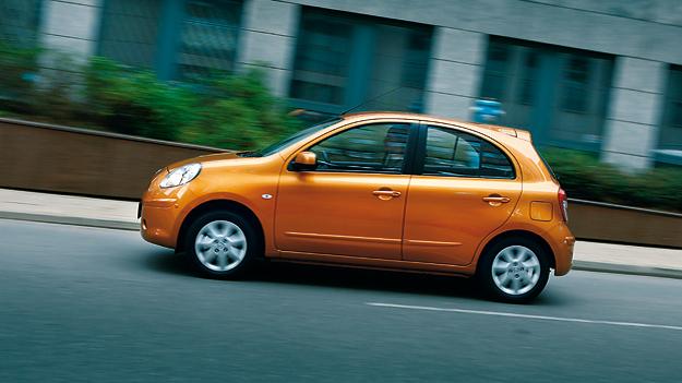 Nissan Micra exterieur Dynamisch Seite