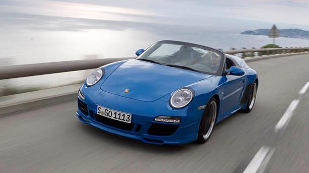 Porsche 911 Speedster Exterieur Dynamisch Front