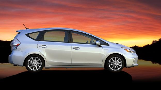 Toyota Prius V Kombi Exterieur Seite