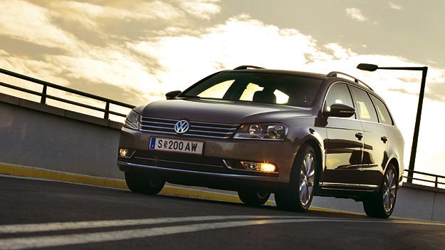 VW Passat Variant Exterieur Dynamisch Front