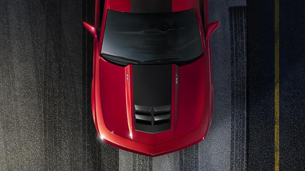 Chevrolet Camaro ZL1 Exterieur Statisch oben Front