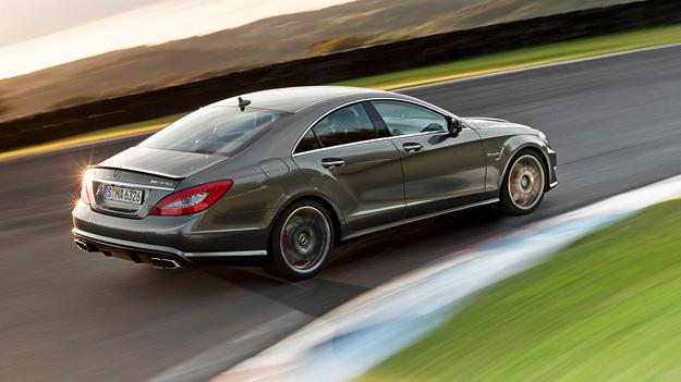 Mercedes-Benz CLS AMG Exterieur Dynamisch Heck Seite