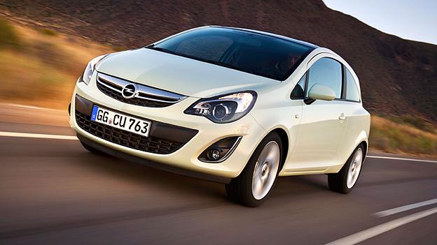 Opel Corsa Exterieur Front Dynamisch