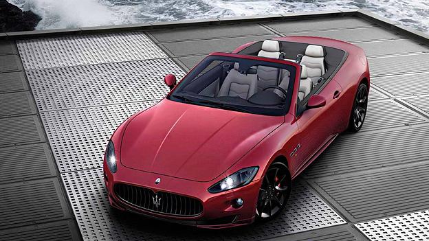 Maserati Gran Cabrio Sport Exterieur