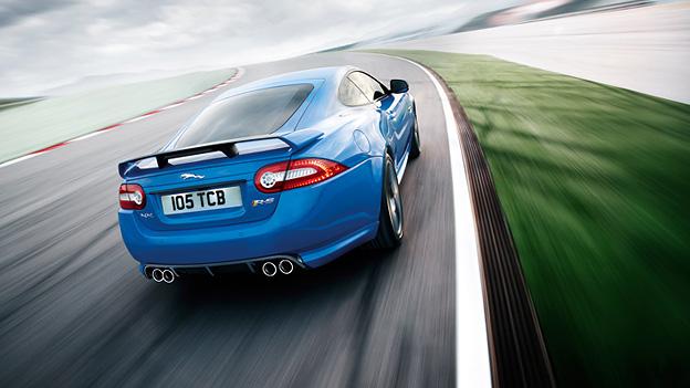 Jaguar XKRS Exterieur Dynamisch Heck