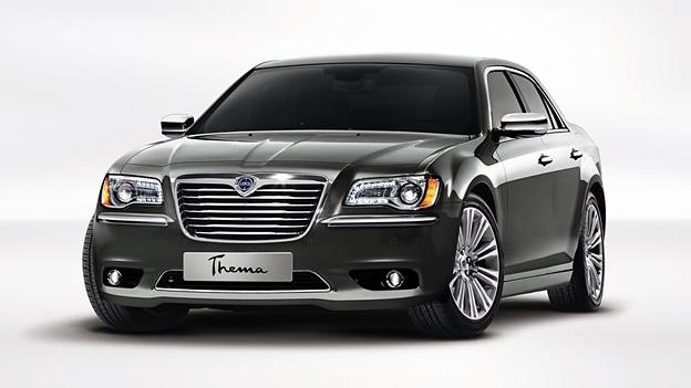Lancia Thema Chrysler 300 Exterieur Statisch Front
